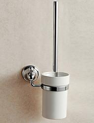 Porte Brosse de Toilette Gadget de Salle de Bain / Miroir Poli Contemporain