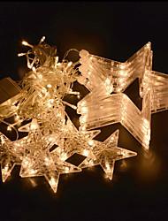 povoljno -COSMOSLIGHT 2.5m Žice sa svjetlima 138 LED diode Toplo bijelo Plavo Vodootporno Promjenjive boje 220V