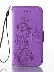 povoljno -Θήκη Za Samsung Galaxy Samsung Galaxy Maska Novčanik / Utor za kartice / sa stalkom Korice Cvijet Tvrdo PU koža za A5(2016) / A3(2016)
