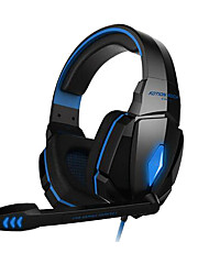 cheap -KOTION EACH G4000 Over Ear Headband Wired Headphones Plastic Gaming Earphone Noise-isolating Headset