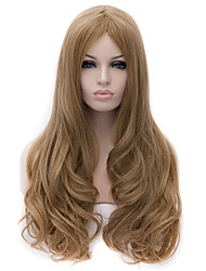 cheap -New High-Quality European and American Popular Gold Flax Fiber Wig