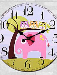 cheap -1PC Cartoon Quartz Clock Wall Clock Modern Personality Artistic Wall Clock Sitting Room Tables