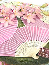 Bachelorette / Bridesmaids - 1Piece/Set Asian Silk Hand Fans Ladies Summer Essentials Beter Gifts DIY Wedding Favors