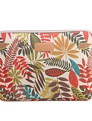 "cheap -8.3"" 9.8"" 10"" 11"" 12"" Colorful coleus Pattern Canvas Bag for Macbook 11.6 /12 iPad mini HP lenovo"