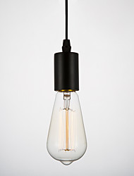 E27 40W Spiral Retro Big Mouth Household Incandescent Edison Carbon Filament Light Bulb Retro Industrial Wind