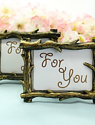 1pcs Rustic Place Card Picture Frame Favors Wedding Decor