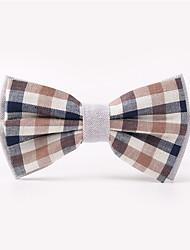 cheap -Men's Party / Work / Basic Cotton Bow Tie Print