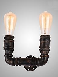 economico -Rustico/campestre Lampade da parete Per Metallo Luce a muro 110-120V 220-240V MAX 40WW