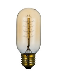 t45 220v 40w fil autour edison ampoule edison couloir terrasse personnalité rétro art déco lampe