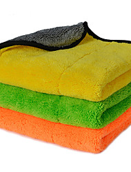 AUTOYOUTH  Super Thick Plush Microfiber Car Cleaning Cloths Car Care Microfibre Wax Polishing Detailing Towels 3 Colors