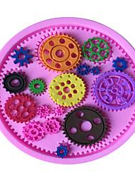 Недорогие -Формы для пирожных Хлеб Торты Печенье Cupcake Пироги Пицца Шоколад Лед Силикон Экологичные Антипригарное покрытие Своими руками