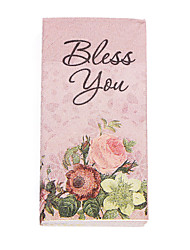 100% virgin pulp 50pcs BLESS YOU Wedding Napkins Wedding Reception