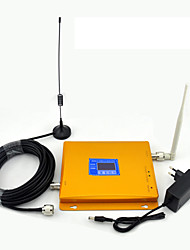 cheap -GSM 900mhz DCS 1800mhz Signal Booster Cell Phone Signal Repeater LCD Display / Dual Band