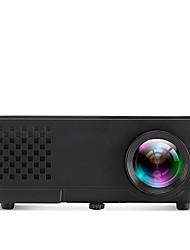 Недорогие -a810 Black ЖК экран Проектор для домашних кинотеатров Светодиодная лампа Проектор 600Lumens Поддержка XGA (1024x768) Экран / WVGA (800x480)