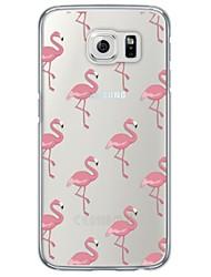 Per Samsung Galaxy S7 Edge Ultra sottile / Traslucido Custodia Custodia posteriore Custodia Vignette Morbido TPU SamsungS7 edge / S7 / S6
