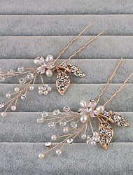 economico -strass capelli spilla copricapo festa di nozze elegante stile femminile