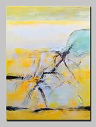 Pintados à mão Abstrato Paisagens Abstratas Vertical,Modern Estilo Europeu 1 Painel Tela Pintura a Óleo For Decoração para casa