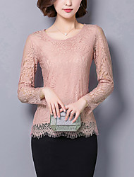 cheap -Women's Lace Daily Sexy Fall Blouse