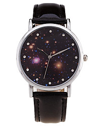 cheap -Women's Quartz / Digital Wrist Watch Imitation Diamond / Cool / Moon Phase Leather Band Charm / Vintage / Candy color / Casual / Fashion