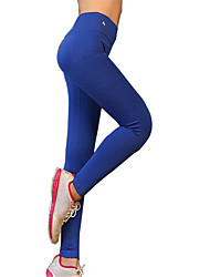 cheap -Yoga Pants Pants / Trousers Tights Bottoms Quick Dry Breathable Compression Natural High Elasticity Sports Wear Women's Yoga Pilates