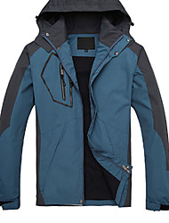 Herre Trekking-jakke Udendørs Vinter Vandtæt Hold Varm Hurtigtørrende Vindtæt Åndbart Toppe Campering & Vandring Klatring