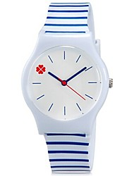 abordables -Reloj de Pulsera Cool / Colorido Plastic Banda Caramelo / Casual Azul