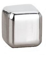 Stainless Steel Whiskey Stones Rock Ice Cubes Soapstone Drink Freezer