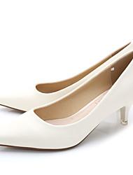 Women's Heels Spring / Summer / Fall Heels / Pointed Toe / Closed Toe  Casual Low Heel Black