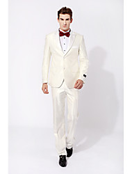 cheap -Party/Evening Causal Tuxedos Slim Peak Single Breasted White