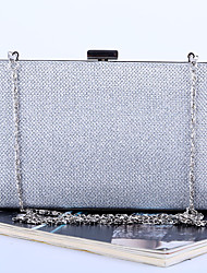 Women Clutch PU Casual Gold Black Silver