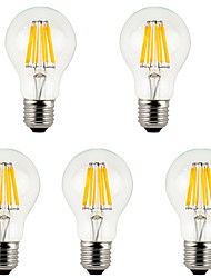 cheap -5Pcs MORSEN®Lowest Price E27  8W  800lm Bulbs  LED Filament Bulb Warm/Cold White Bulbs Lamp for Indoor/Kitchen AC85-265V