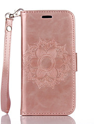 Назначение iPhone X iPhone 8 iPhone 7 iPhone 6 Кейс для iPhone 5 Чехлы панели Кошелек Бумажник для карт со стендом Флип Рельефный С узором