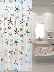 cheap -Polyester Thicken Waterproof Shower Curtains Bathroom Curtains