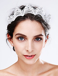 cheap -Crystal / Lace / Acrylic Flowers with 1 Wedding / Special Occasion Headpiece
