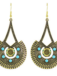 Earring Circle Jewelry Women Fashion / Bohemia Style Party / Daily / Casual Alloy 1 pair Gold KAYSHINE