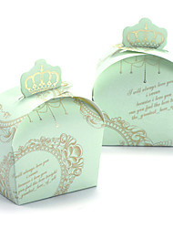 12 Pezzo/Set Porta-bomboniera-Creativo CartaBomboniere scatole Bomboniere borse Bomboniere secchielli Vasi e bottiglie per dolci Scatole