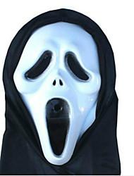 masque de halloween props terreur diable monolithique masque de squelette cri