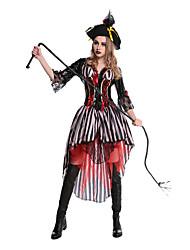 Cosplay Kostýmy Maškarní Kostým na Večírek Filmové a TV kostýmy Festival/Svátek Halloweenské kostýmy Patchwork Šaty Více doplňků Halloween