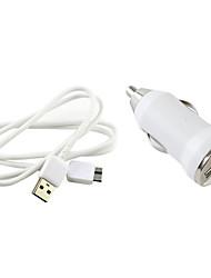 preiswerte -Eu-Stecker Micro-USB-abs Auto-Ladegerät für Samsung Anmerkung3 / 4 und s5