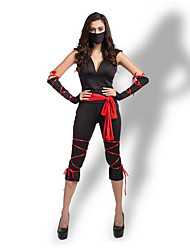 billige -Oktoberfest Karriere Kostumer Cosplay Kostumer Sexede Uniformer Flere Uniformer Jul Halloween Karneval Festival / Højtider Terylene Karneval Kostume Ensfarvet