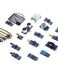 cheap -Eicoosi 16 In 1 Sensor Module Kit For Raspberry Pi 3B / 2B / B