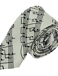 cheap -Men Wedding Party Polyester Silk Leisure Jacquard Tie Necktie