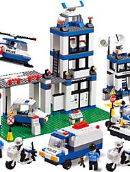baratos -WOMA Blocos de Construir Blocos Militares 832 pcs Casa Soldier Novidades Para Meninos Para Meninas Brinquedos Dom