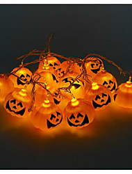 Halloween Pumpkin String Ghost Head Lamps Led Light Bar 16 lamp holder