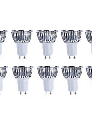cheap -10pcs Pack  5W GU10 LED Bulbs - Warm white/white Spotlight - 420 Lumen 50Watt Equivalent - 45 Degree Beam Angle