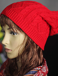 cheap -Women New Design Caps Twist Pattern Women Winter Hat Knitted Sweater Fashion beanie Hats