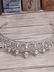 imitación perla rhinestone aleación tiaras headpiece estilo elegante