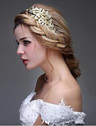 Недорогие -Искусственный жемчуг Сплав Ободки Цветы Придерживайтесь волос Аксессуар для волос Заставка