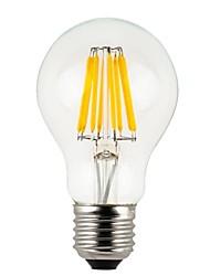 E26/E27 LED Globe Bulbs A60(A19) 8 COB 780 lm Warm White 2700 K Waterproof Dimmable V