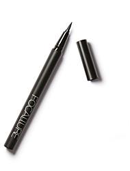 Eyeliner/Lidstrich Flüssigkeit Nass Lang anhaltend / Wasserdicht / Natürlich / Schnelles Trocknung Schwarz Augen 1 1 Others